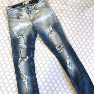 Cello High Distress Jeans - Size 3